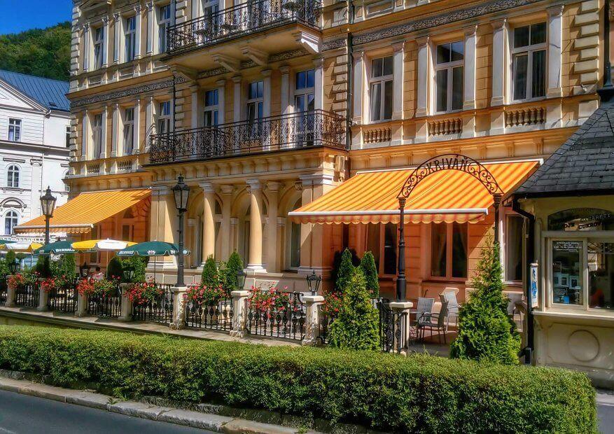 Hotel Krivan 3* в Карловых Варах