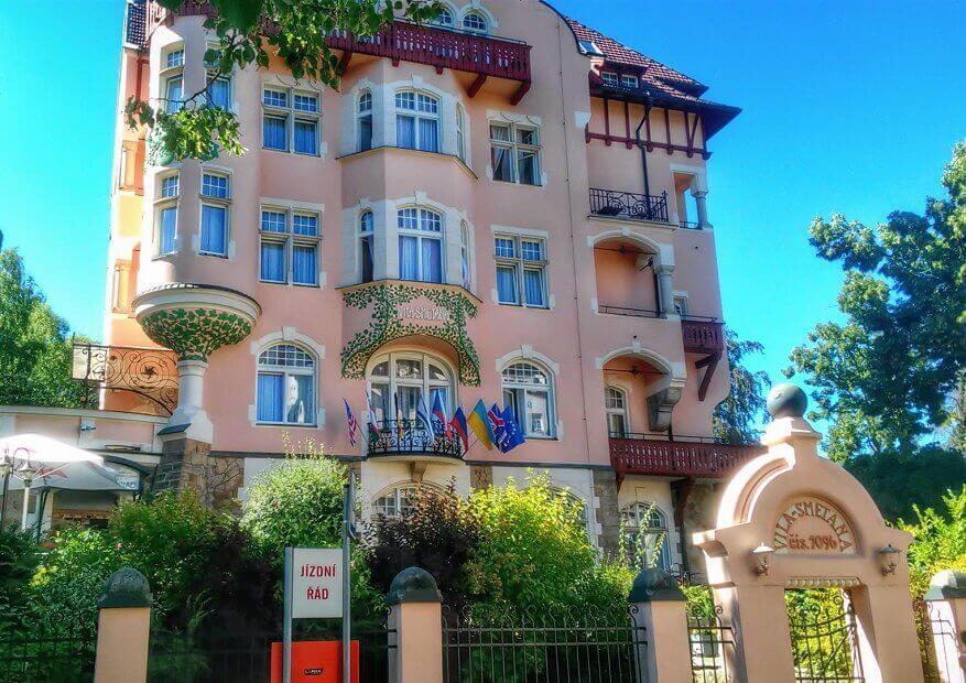 Hotel Smetana Vyšehrad 3*